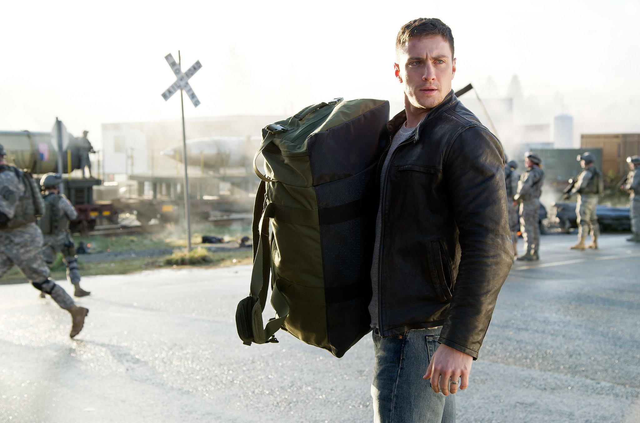 Aaron Taylor-Johnson in Godzilla