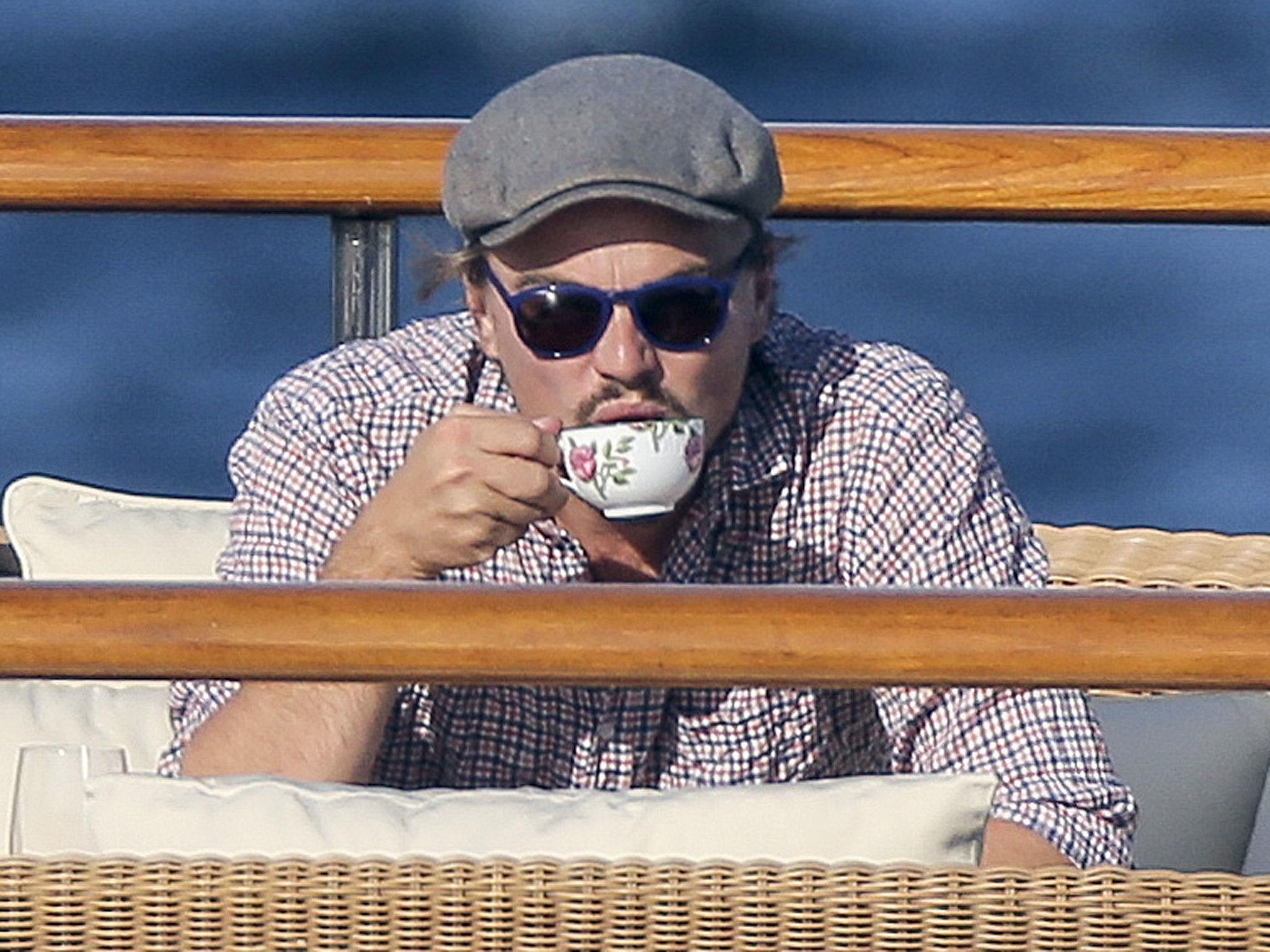 Or enjoy a cup of tea. Your choice.