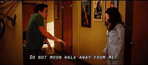 He Moonwalks Away When Necessary