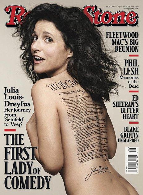 Julia Louis-Dreyfus For Rolling Stone, April 2014
