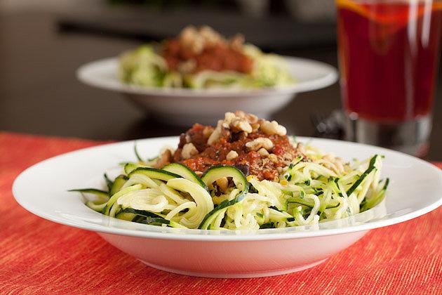 Dinner: Zucchini Pasta