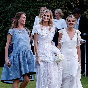 Poppy Delevingne in a Peter Dundas For Emilio Pucci Gown