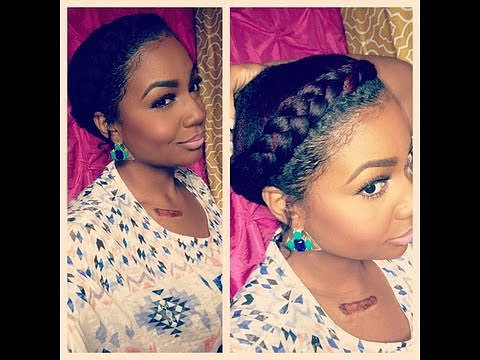 Goddess Braid Tutorial