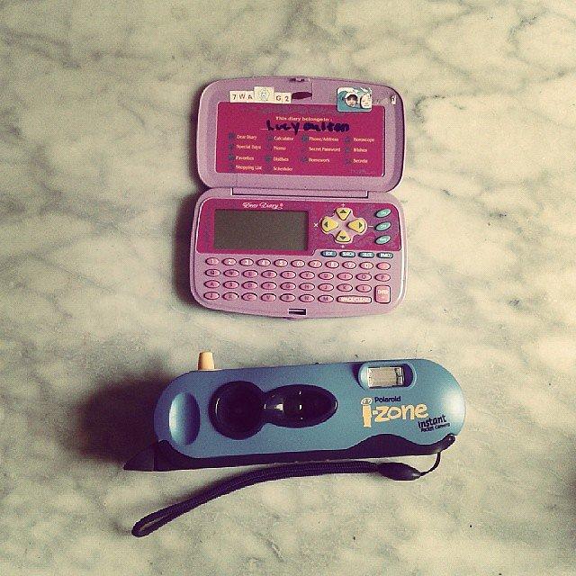 Dear Diary + i-Zone Polaroid Camera