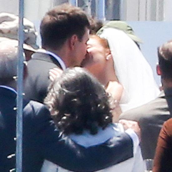 Sienna Miller Bradley Cooper Kissing On American Sniper Set