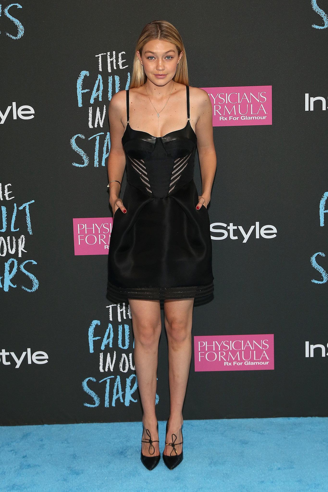 Model Gigi Hadid made an appearance.