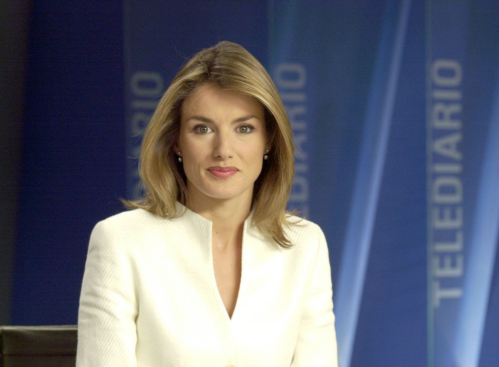 Princess Letizia worked as a news anchor in the early 2000s, and she reported from Ground Zero after the 9/11 attacks.