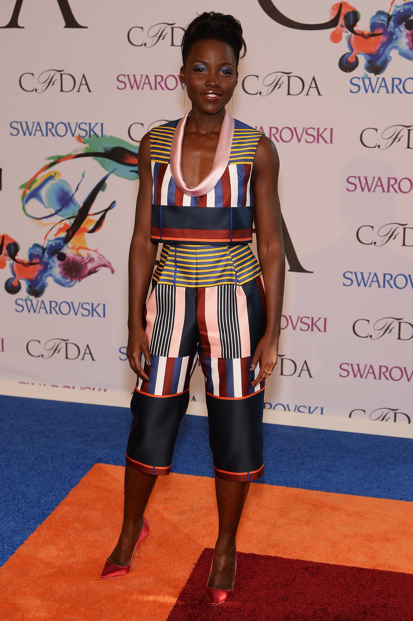 Lupita Nyong'o at the 2014 CFDA Awards