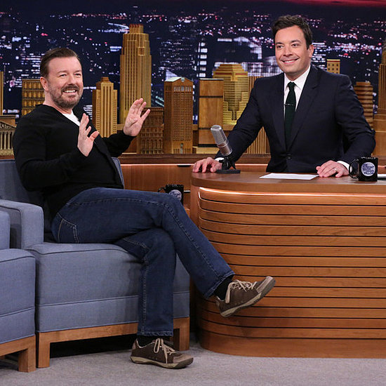 Ricky Gervais on The Tonight Show June 2014 | Video