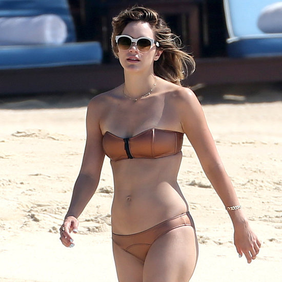 Katharine McPhee in a Bikini in Mexico