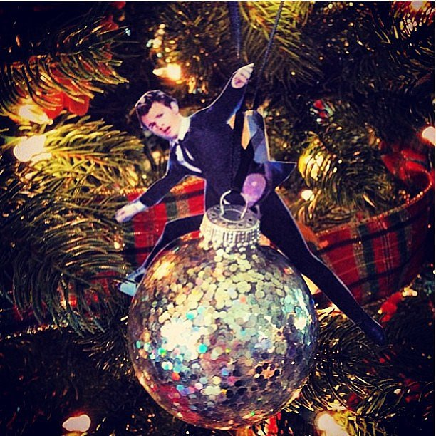 When He Had a Wrecking Ball Ornament