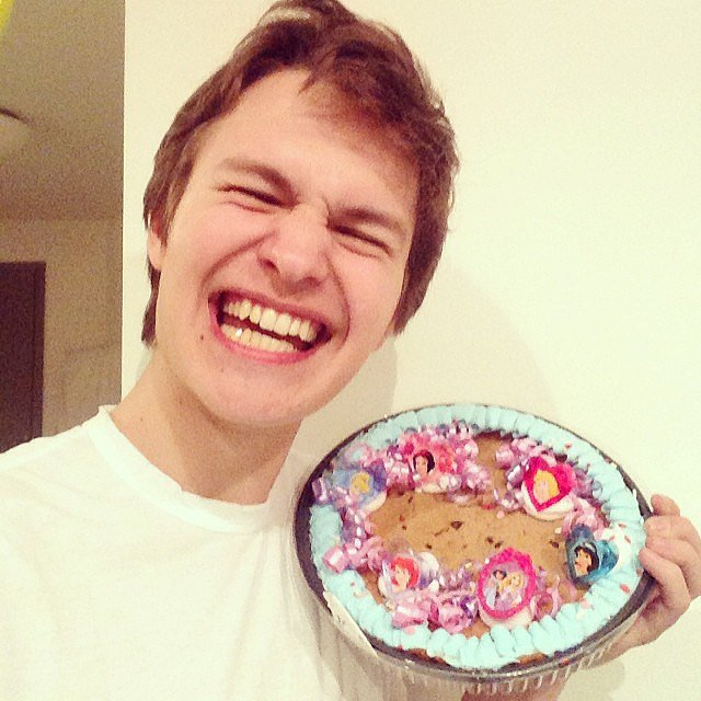 When He Was Superstoked to Have His Cookie Cake