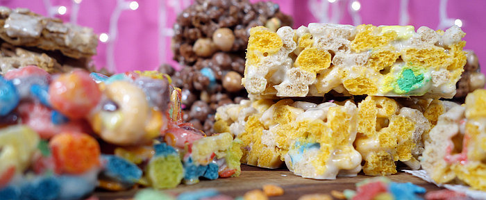 Beyond Rice Krispies: Marshmallow Treats Featuring Your Favorite Cereals