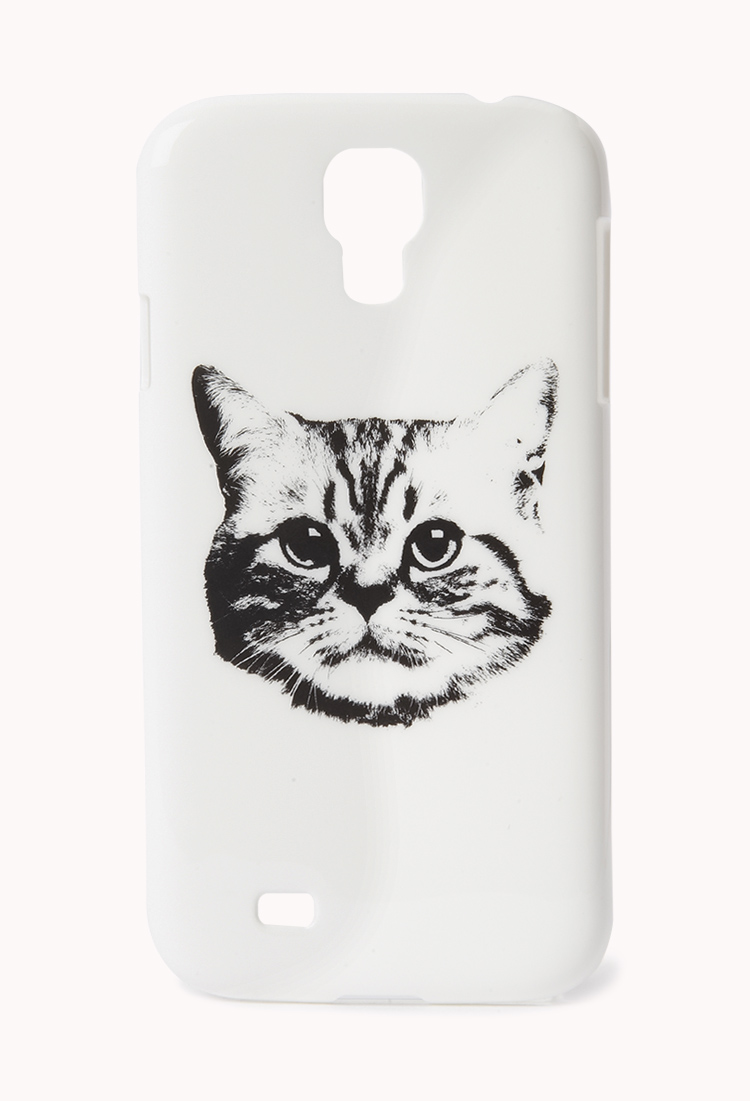 Skip an overly colorful case and opt for a monochromatic case ($4, originally $8) that packs some major cattitude.
