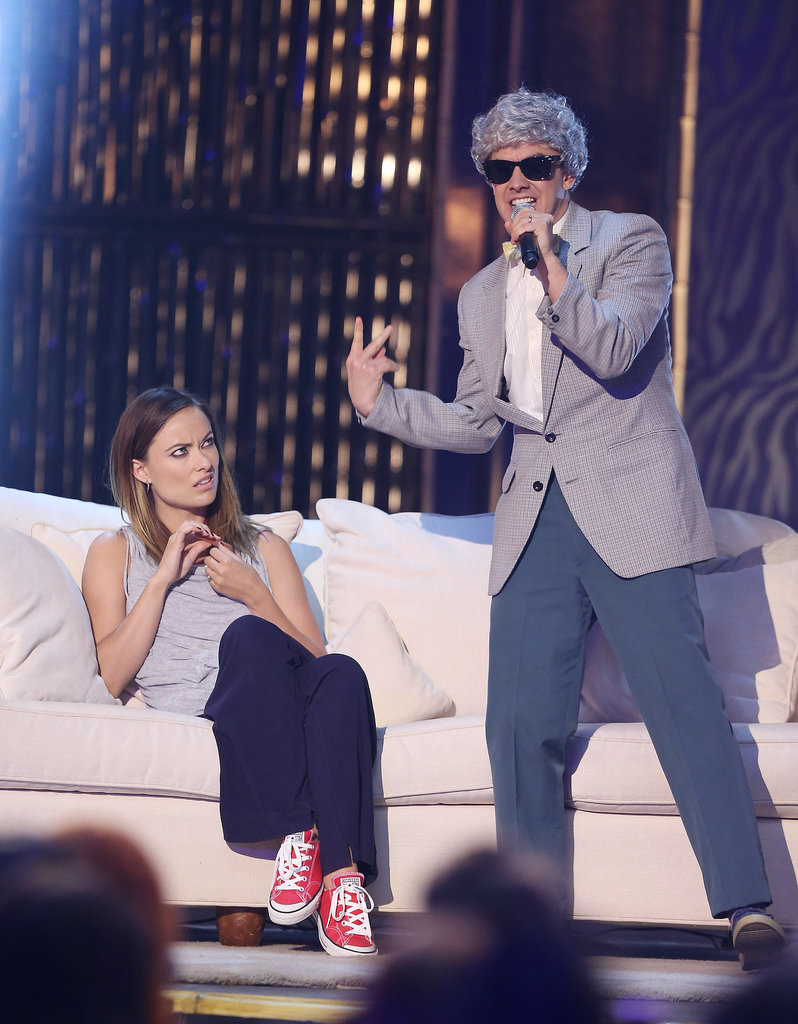 Olivia Wilde was in on the fun for The Lonely Island's 2013 performance.