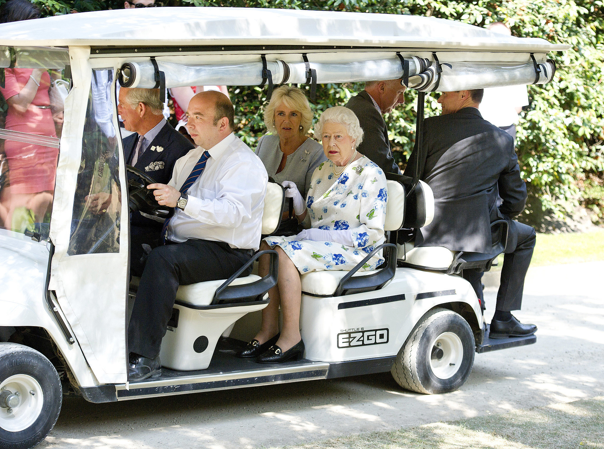 Least: When She Rode on a Golf Cart