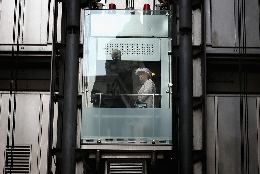 Least: When She Rode in an Elevator
