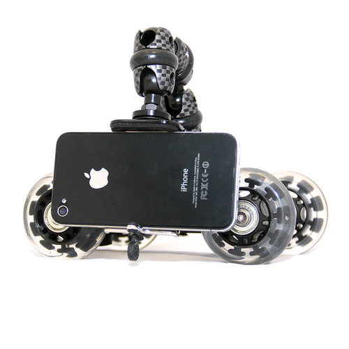 The photo-loving dad will get cinematic, sweeping shots on the go with the smooth rolling wheels of the iStabilizer dolly ($60) for smartphones. The mount can also be detached and used on tripods with a standard camera mount.