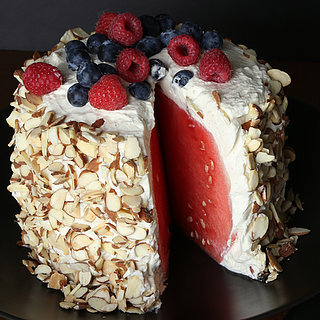 No-Bake Watermelon Cake Recipe