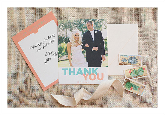 Photo Thank You Card