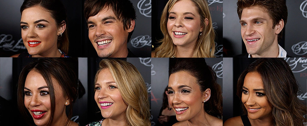 Pretty Little Liars Cast Share Their Best Pickup Lines