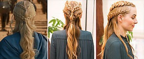 DIY This Insane Daenerys-esque, 2-Tiered Plait