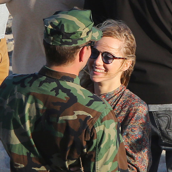 Bradley Cooper and Suki Waterhouse's PDA on Set