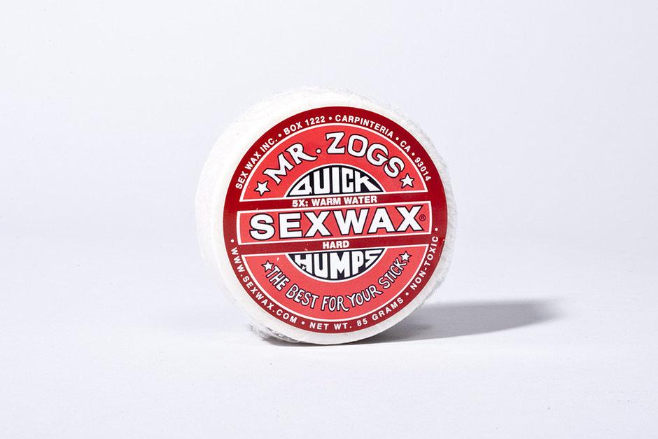 5. He waxes.