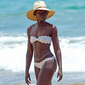 Lupita Nyong'o in a Bikini in Hawaii   Pictures