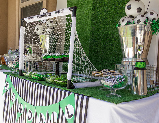 A Soccer Party That's Sure to Score!
