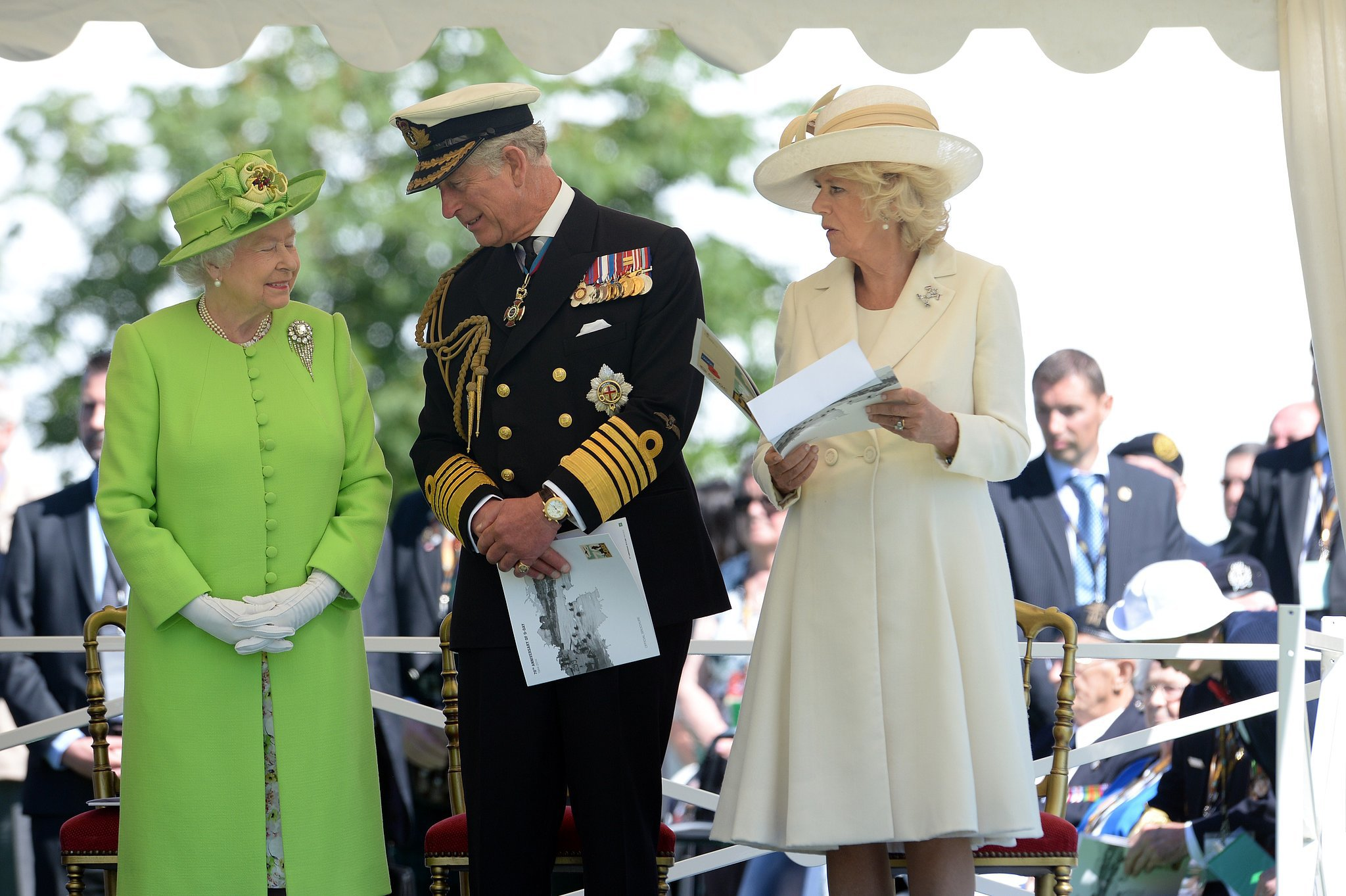 Royals, Politicians, and Veterans Remember D-Day