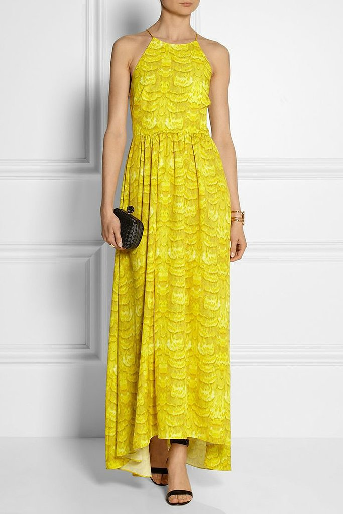 Tibi Crepe Maxi  Dress ($675)