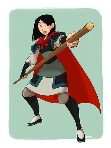 Cross-Dressing Mulan