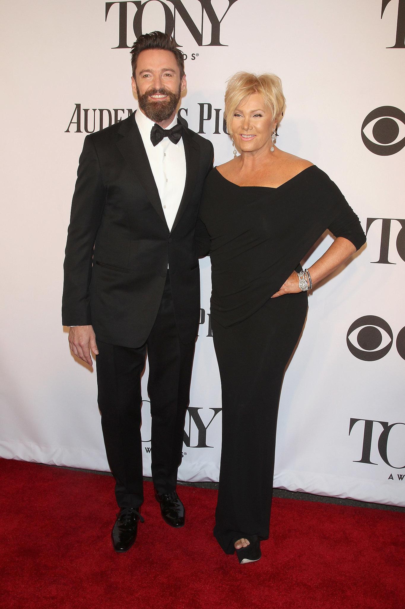 Hugh Jackman arrived with his wife, Deborra-Lee Furness.