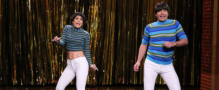 "Jennifer Lopez Rocks ""Tight Pants"" With Jimmy Fallon"