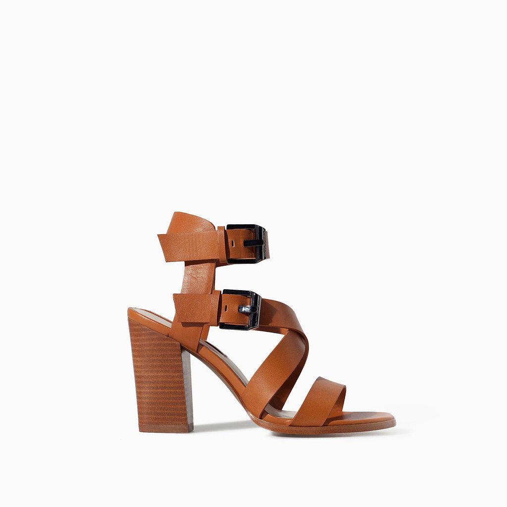 Zara Ankle-Strap Sandal