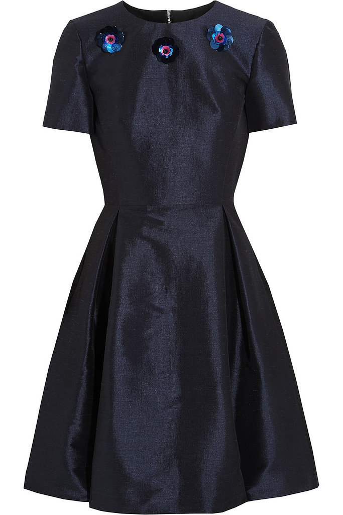 Lulu & Co. Embellished Fit-and-Flare Dress