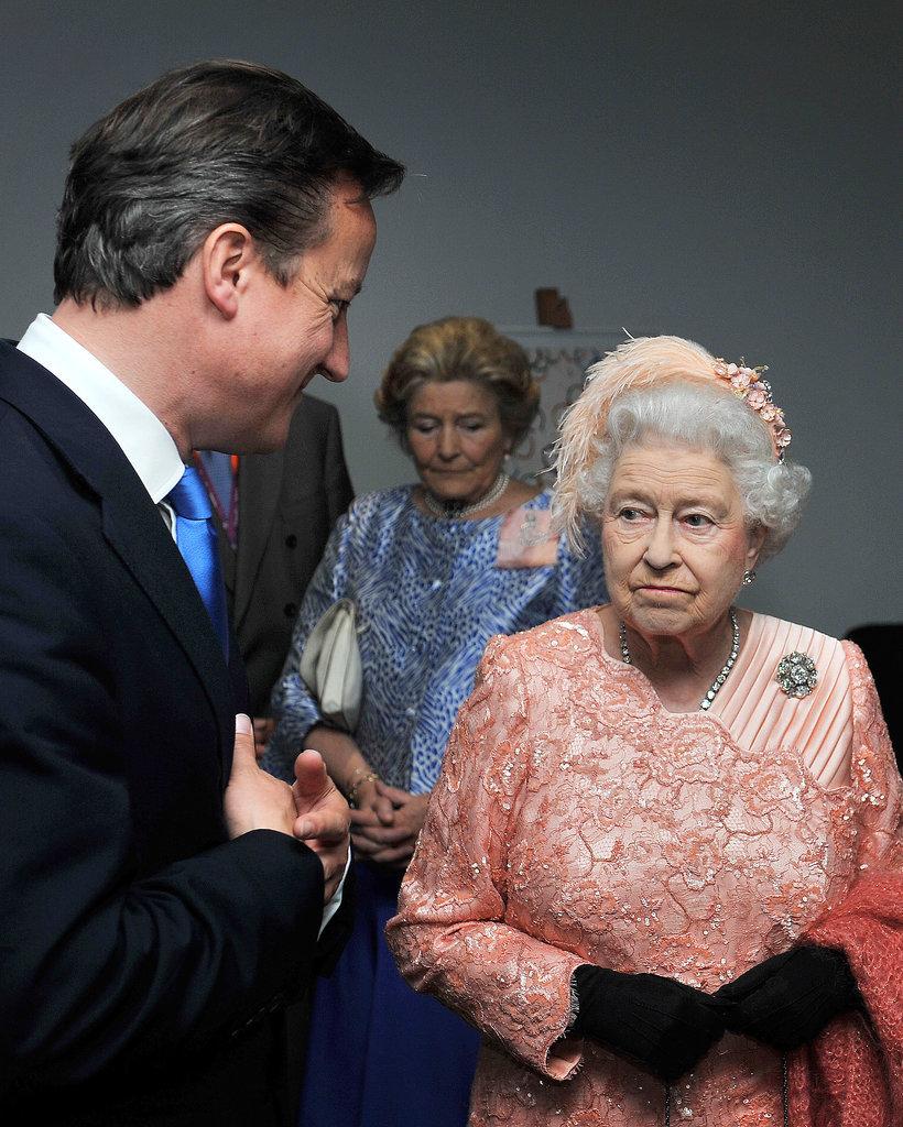 When David Cameron Won't Stop Talking