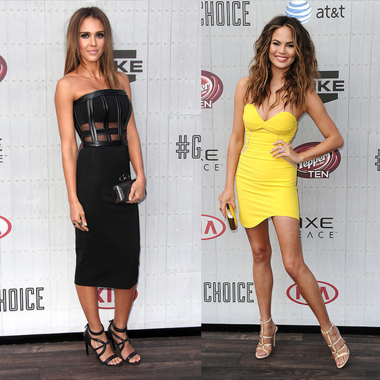 Jessica Alba's Sexy Style at the Spike TV Guys Choice Awards
