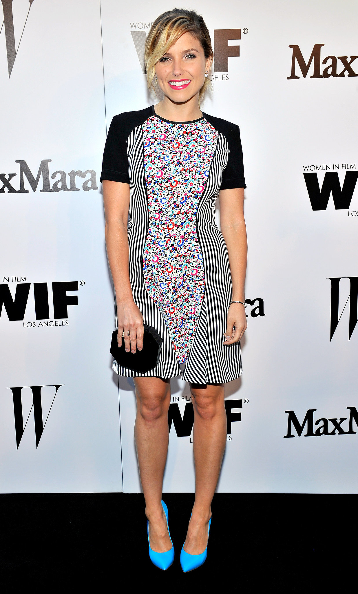 and Casadei shoes at the Max Mara and W magazine Women in Film party