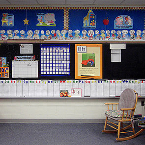 Are Classrooms Too Colorful?