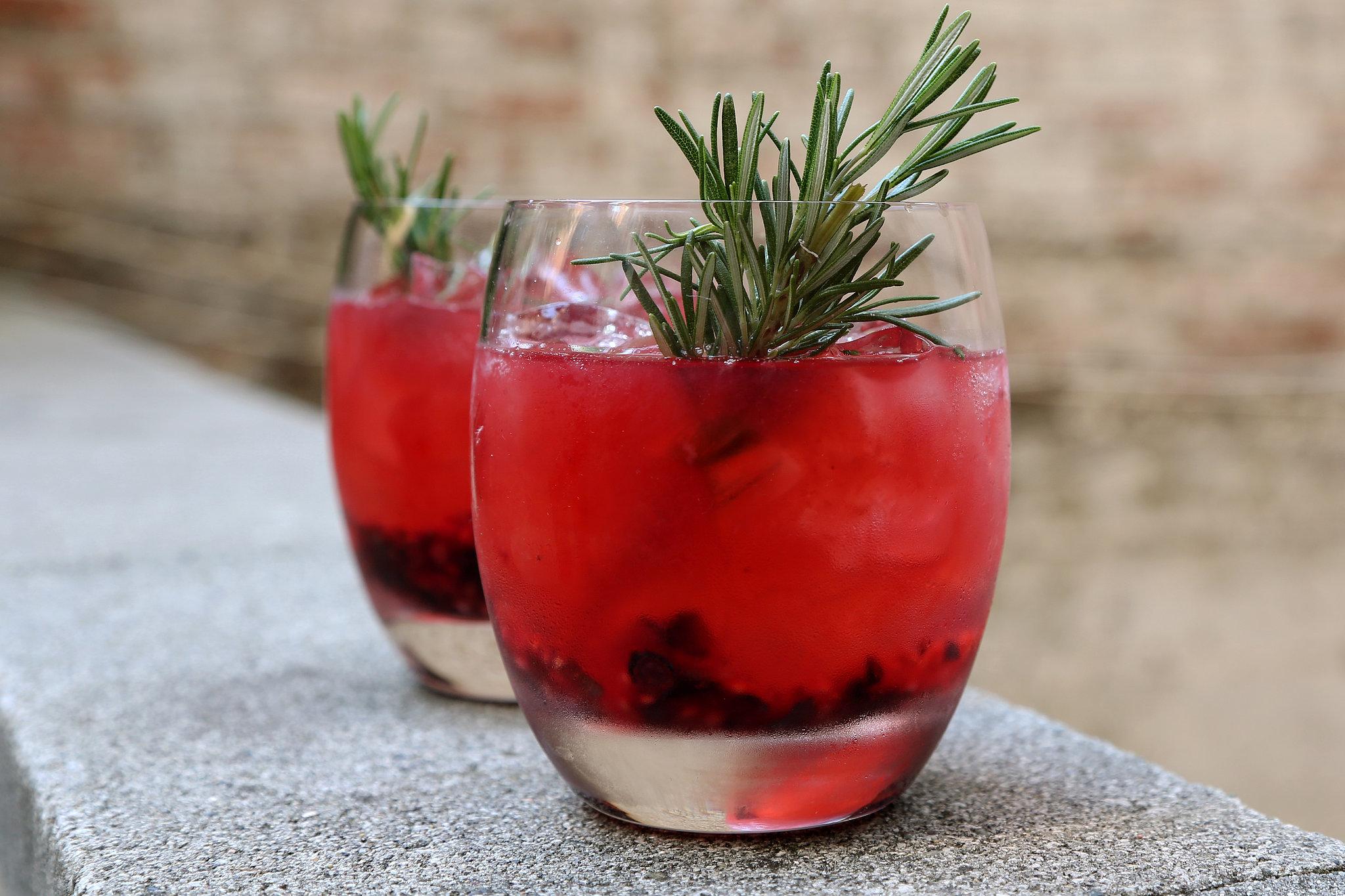 Seasonal Berry Cocktail