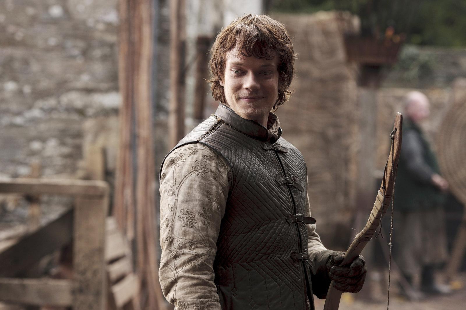 Theon Greyjoy, Season One