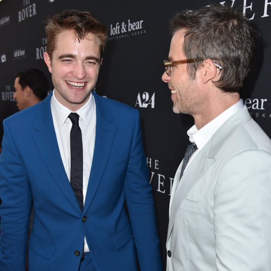 Robert Pattinson and Guy Pearce at the Rover Premiere in LA