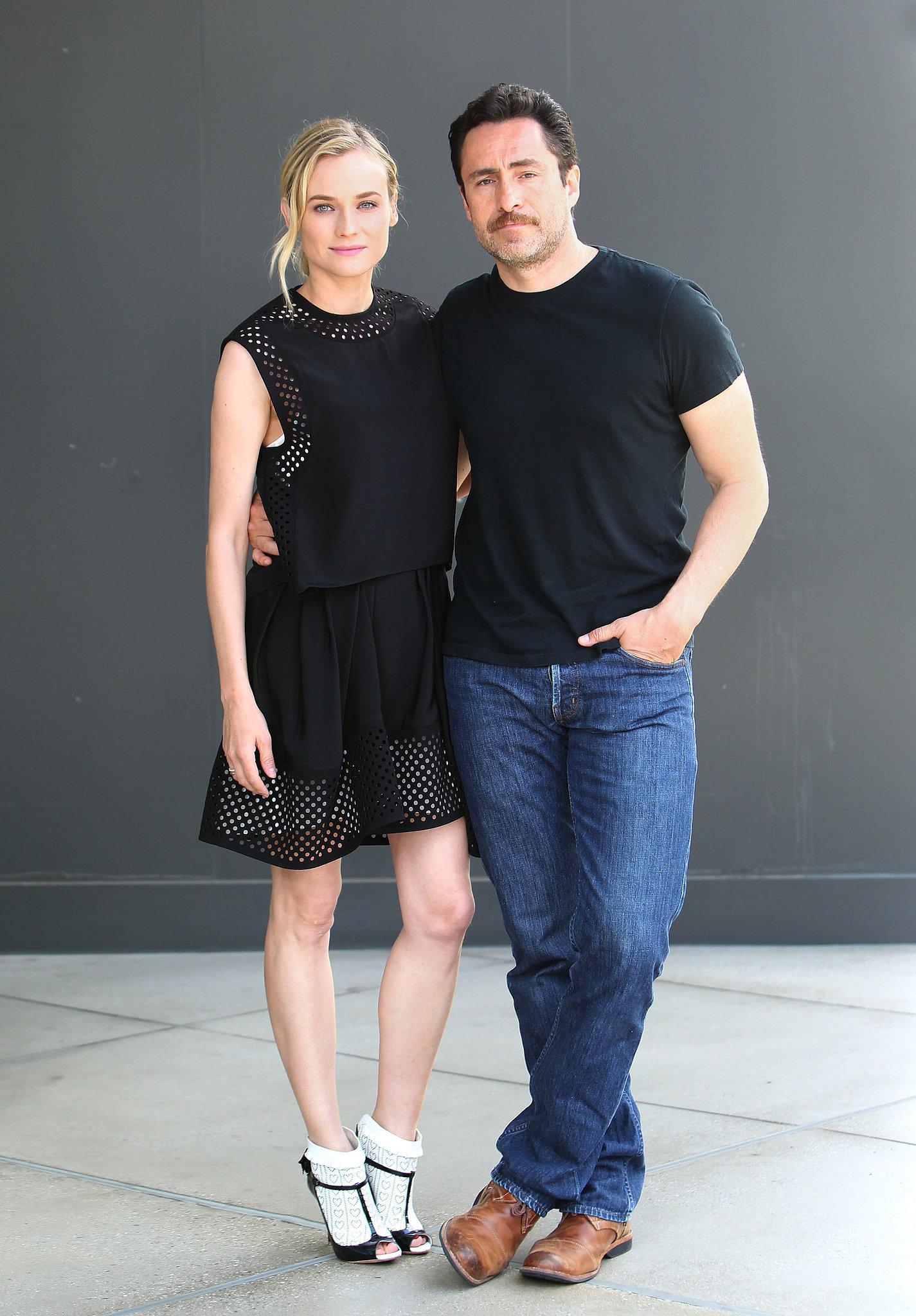 Diane Kruger and Demian Bichir