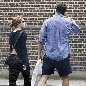 Emma Watson and Matthew Janney Kiss in London