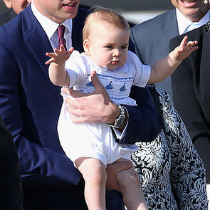 Kate Middleton Says Prince George Is Walking