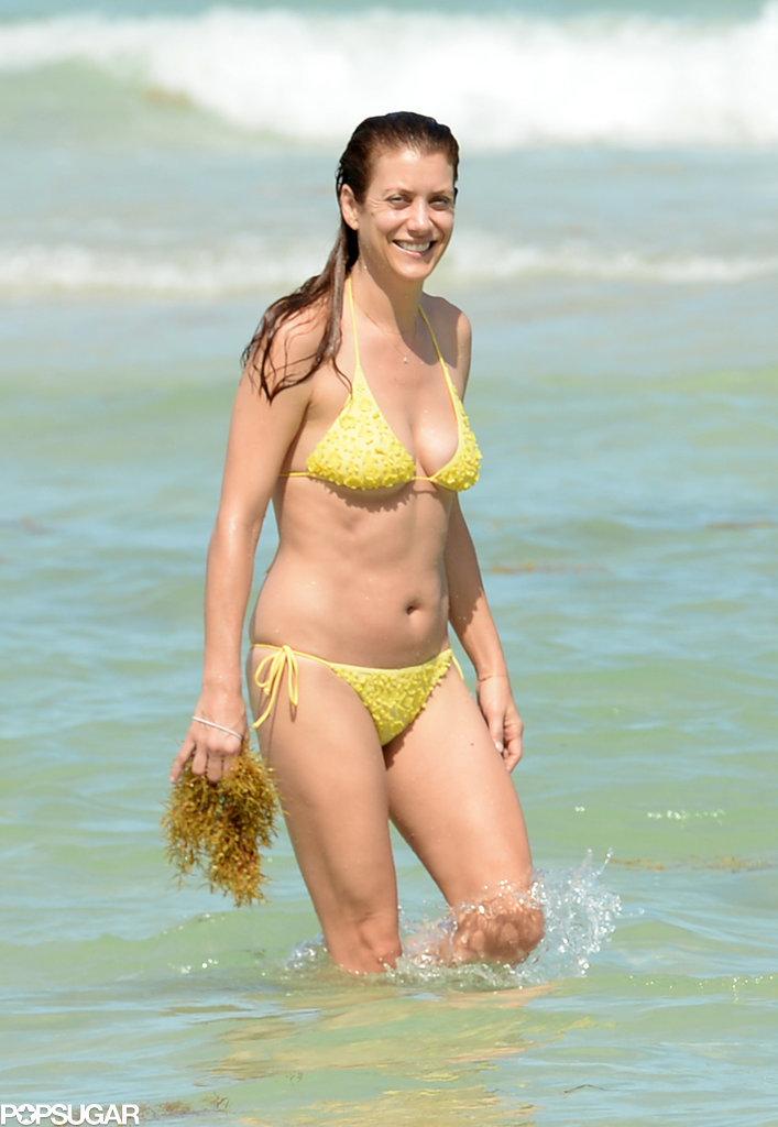 Kate Walsh showed off her bikini body in Miami on Sunday.