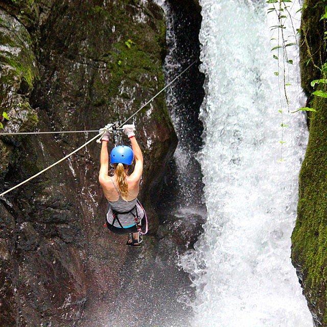 Zip-Line in Costa Rica