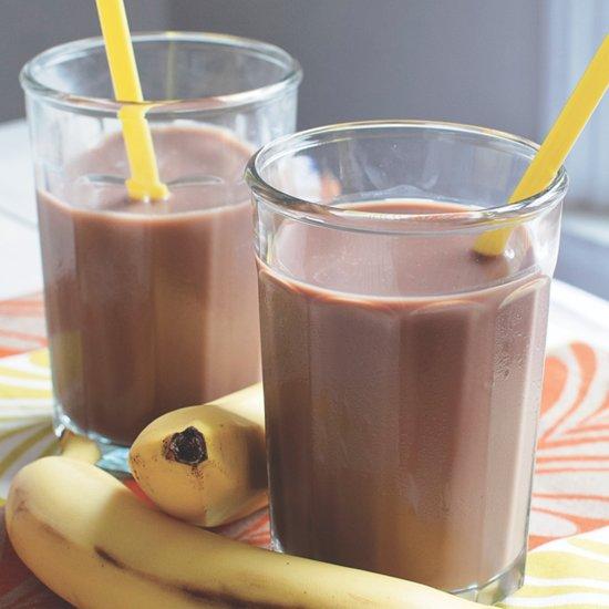 Chocolate Banana Nut Smoothie